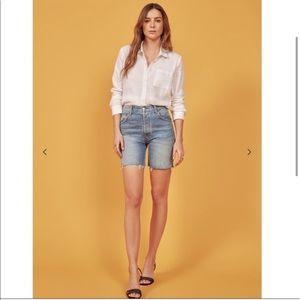 Reformation Allie Jean Shorts Size 26